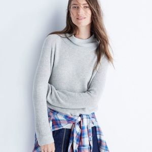 Madewell Cinematheque Mockneck Sweater